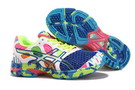 Asics Women's Gel Noosa Tri 7 Medium Blue Lawn Green White